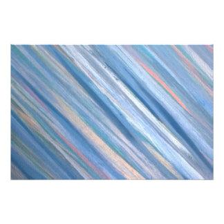 Rayas metálicas del melocotón de plata azul fotografías