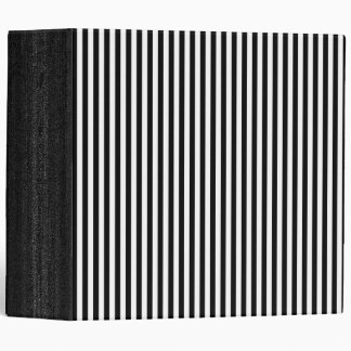 "Rayas modernas blancos y negros elegantes carpeta 2"""