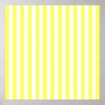 Rayas modernas de la limonada posters