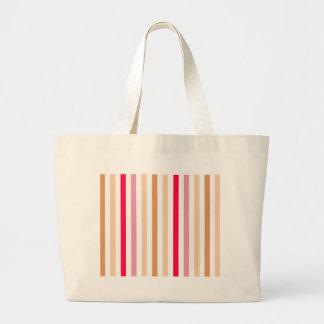Rayas multicoloras elegantes bolsa de mano