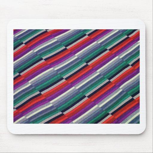 Rayas multicoloras mousepad