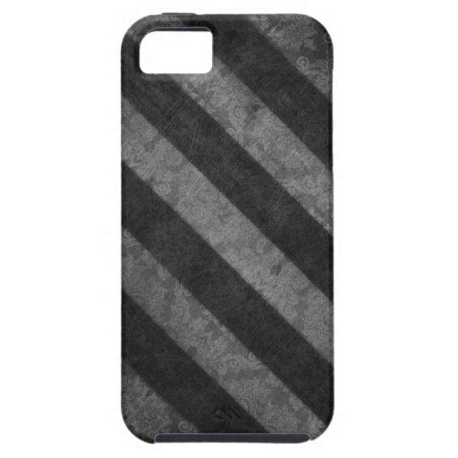 Rayas negras iPhone 5 Case-Mate cárcasa