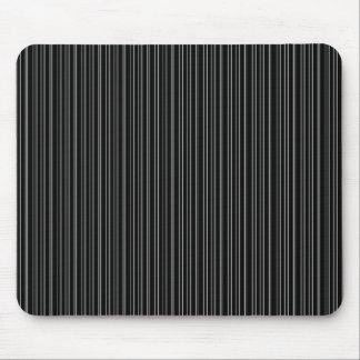 Rayas negras tapetes de ratón