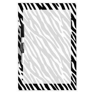 Rayas negras y blancas de la cebra pizarra blanca