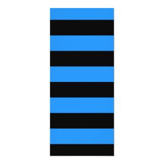Rayas - negro y azul de Dodger Anuncios Personalizados