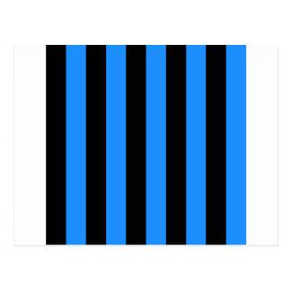 Rayas - negro y azul de Dodger Postales