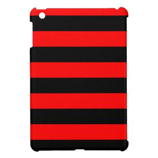 Rayas - negro y rojo
