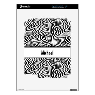 Rayas onduladas skin para el iPad 2