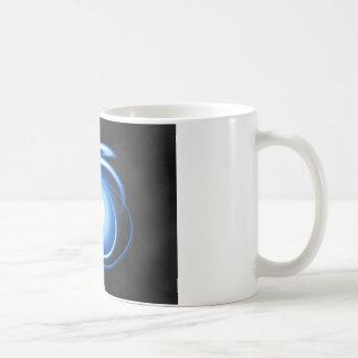 Rayas pálidas taza de café