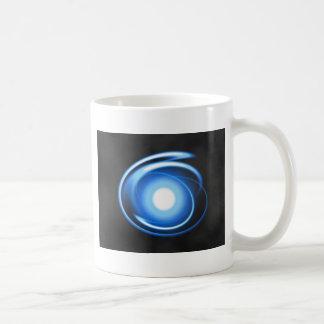 Rayas pálidas tazas de café