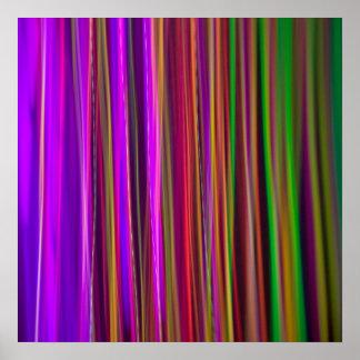 RAYAS - poster del arte abstracto