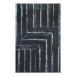 Rayas puestas (minimalism negro) papeleria