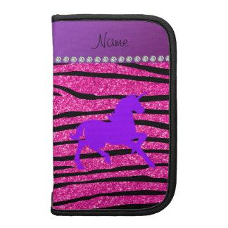 Rayas púrpuras conocidas de la cebra del brillo de organizadores