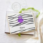 Rayas púrpuras conocidas personalizadas de la