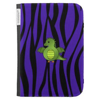 Rayas púrpuras de la cebra del dragón lindo del be