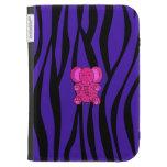 Rayas púrpuras de la cebra del elefante rosado del