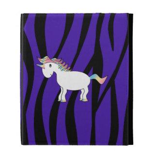 Rayas púrpuras de la cebra del unicornio