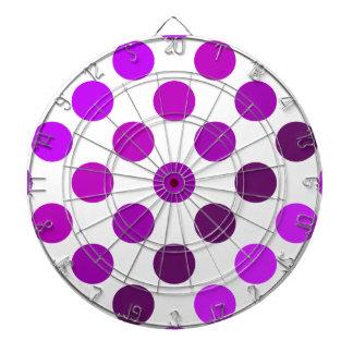 Rayas púrpuras del lunar