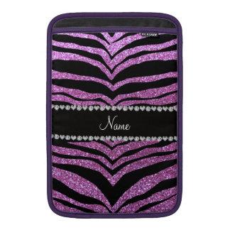 Rayas púrpuras en colores pastel conocidas de enca fundas para macbook air