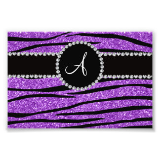Rayas púrpuras en colores pastel de la cebra del cojinete