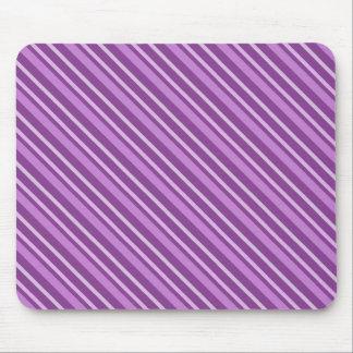 Rayas púrpuras mousepad