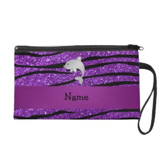 Rayas púrpuras personalizadas de la cebra del
