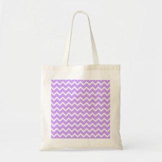 Rayas púrpuras y blancas del zigzag