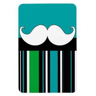 Rayas retras del bigote del bigote del manillar imanes de vinilo