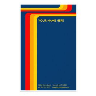 rayas retras: v.2: papelería de diseño