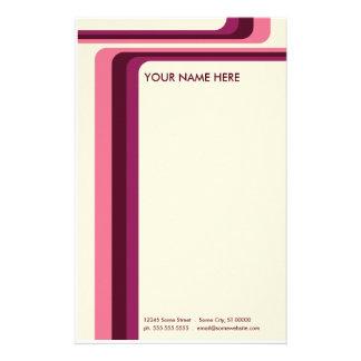 rayas retras: v.2: papeleria personalizada