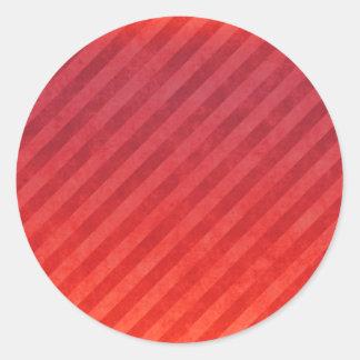 Rayas rojas brillantes etiquetas