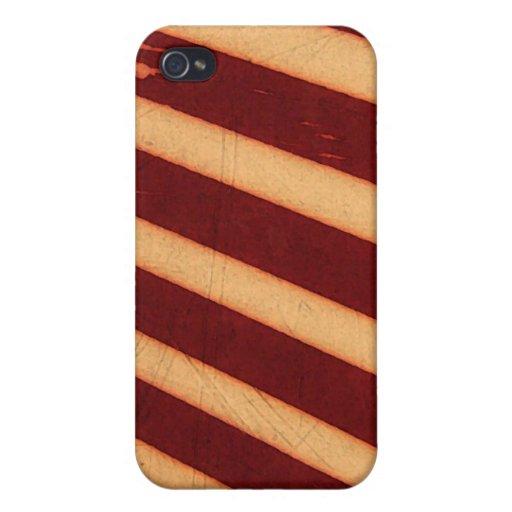 rayas rojas iPhone 4 coberturas