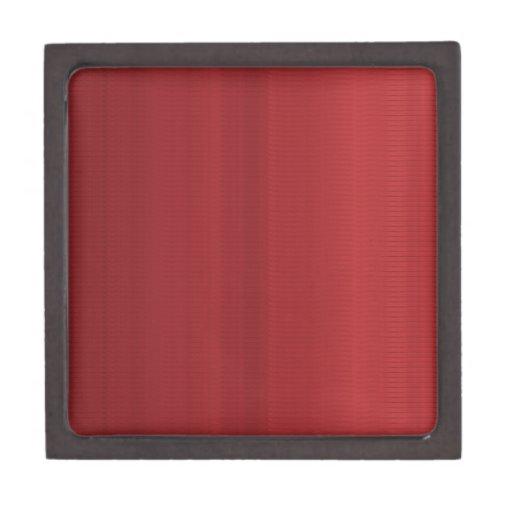Rayas rojas sangre de las sombras caja de regalo de calidad