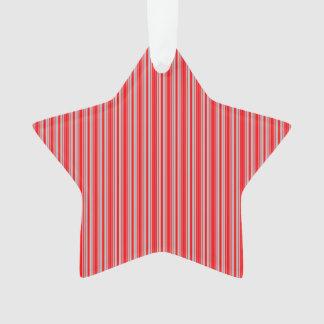 Rayas rojas y de plata del navidad