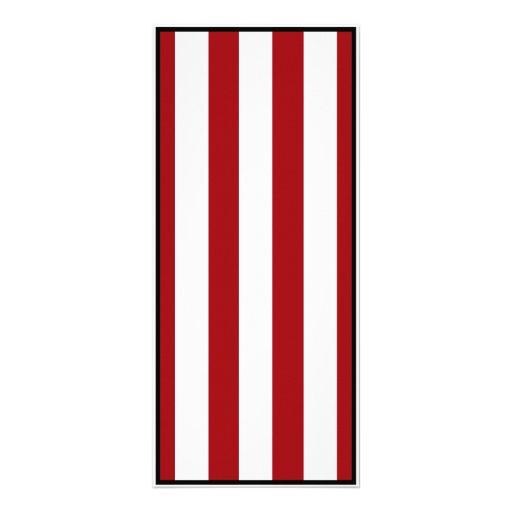 Rayas rojo oscuro (añada el 2do color) lonas personalizadas