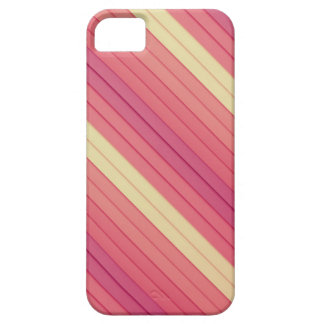Rayas rosadas 3D Funda Para iPhone SE/5/5s