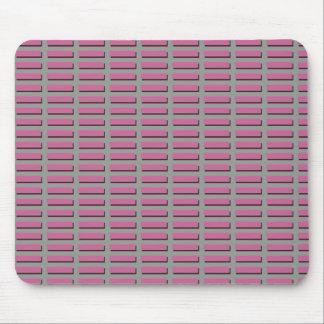 Rayas rosadas alfombrilla de raton