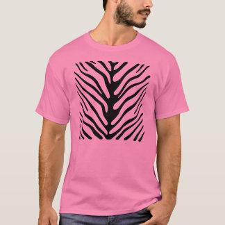 Rayas rosadas de la cebra playera