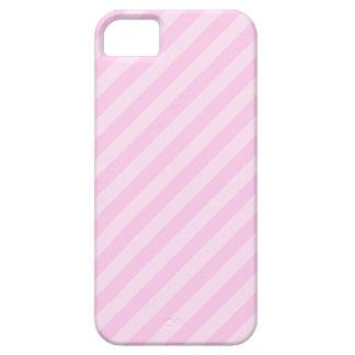 Rayas rosadas iPhone 5 carcasa