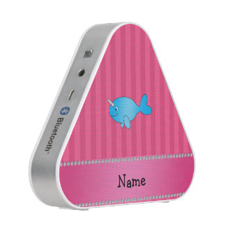 Rayas rosadas narwhal azules conocidas altavoz