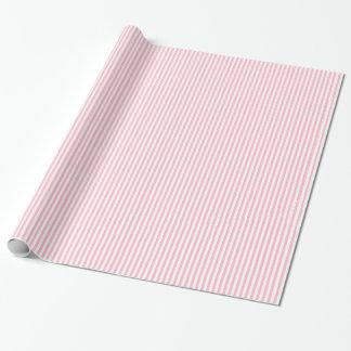 Rayas rosadas papel de regalo