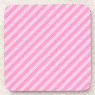 Rayas rosadas posavasos