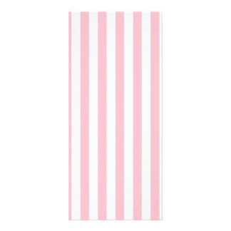 Rayas rosadas diseños de tarjetas publicitarias