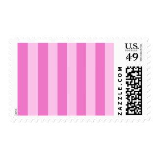 Rayas - rosadas y rosa oscuro sello