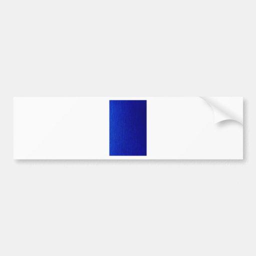 Rayas sombreadas azul pegatina para auto