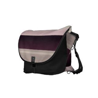 Rayas sombreadas bolsa de mensajeria