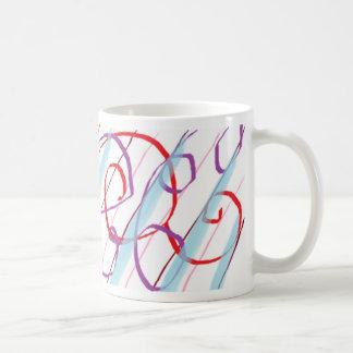 rayas tazas de café