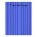Rayas transparentes grises y azules modernas plantillas de membrete