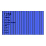 Rayas transparentes grises y azules modernas tarjetas de visita