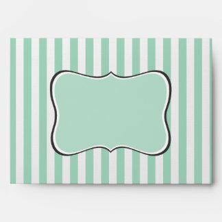 Rayas verdes claras con el frente de lujo del sopo sobre